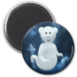 Dinky Bears Little Ghost 2 Inch Round Magnet