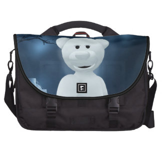 Dinky Bears: Little Ghost Bags For Laptop