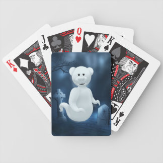 Dinky Bears: Little Ghost Bicycle Playing Cards