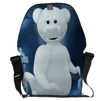 Dinky Bears: Little Ghost Courier Bags