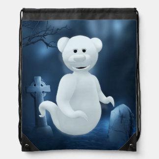 Dinky Bears: Little Ghost Drawstring Backpacks