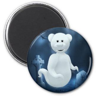 Dinky Bears Little Ghost Magnet