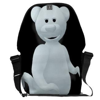 Dinky Bears: Little Ghost Messenger Bag