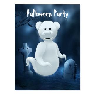 Dinky Bears Little Ghost Postcard