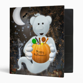 Dinky Bears Little Ghost with Goodies 3 Ring Binder