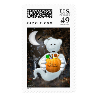 Dinky Bears Little Ghost with Goodies Postage