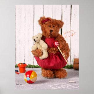 Dinky Bears: Little Girl Poster