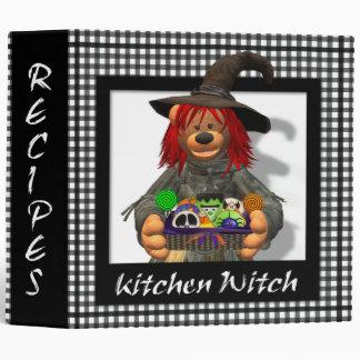 Dinky Bears Little Kitchen Witch Vinyl Binders