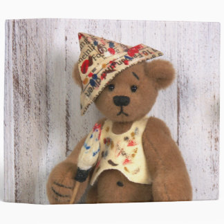 Dinky Bears Little Painter Binder