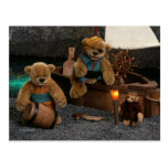 Dinky Bears: Little Pirates Post Cards