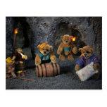Dinky Bears: Little Pirates Postcard