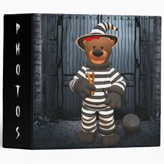Dinky Bears Little Prisoner 3 Ring Binder