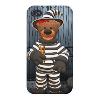 Dinky Bears: Little Prisoner Case For iPhone 4