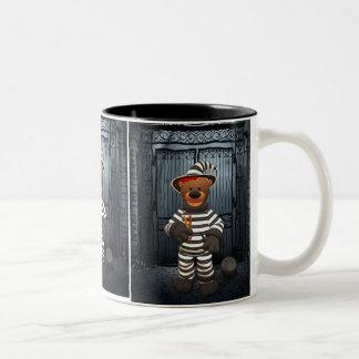Dinky Bears Little Prisoner Two-Tone Coffee Mug