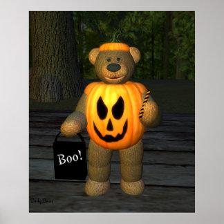 Dinky Bears Little Pumpkin Boy Poster