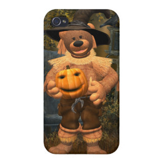 Dinky Bears: Little Scare Crow iPhone 4/4S Case
