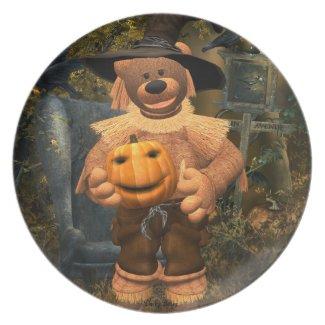 Dinky Bears Little Scarecrow 2 Plate