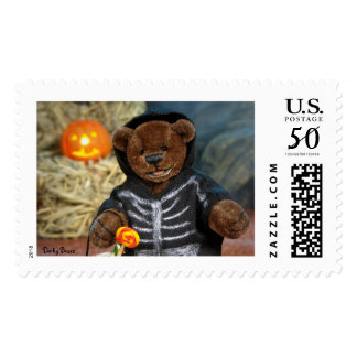 Dinky Bears Little Skeleton Postage