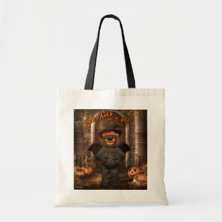 Dinky Bears Little Trick or Treat Bat Budget Tote Bag