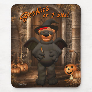 Dinky Bears Little Trick or Treat Bat Mouse Pad