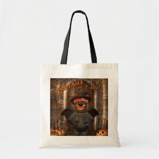 Dinky Bears Little Trick or Treat Bat Tote Bag