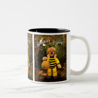 Dinky Bears Little Trick or Treat Bee Two-Tone Coffee Mug