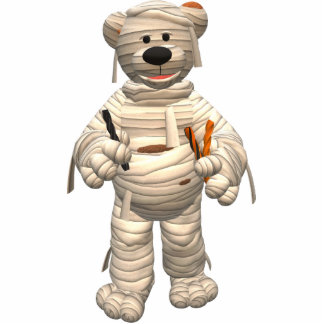 Dinky Bears Little Trick or Treat Mummy Statuette
