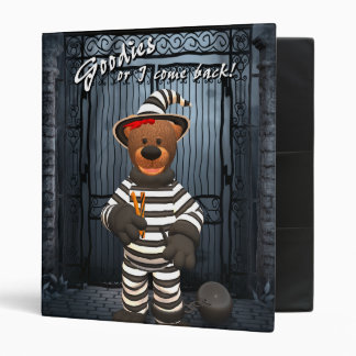 Dinky Bears Little Trick or Treat Prisoner 3 Ring Binder