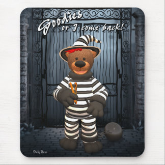 Dinky Bears Little Trick or Treat Prisoner Mouse Pad