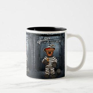 Dinky Bears Little Trick or Treat Prisoner Two-Tone Coffee Mug