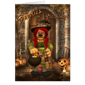 Little Trick or Treat Witch