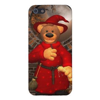 Dinky Bears: Little Trick or Treat Wizard iPhone SE/5/5s Case