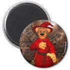 Dinky Bears Little Trick or Treat Wizard Magnet