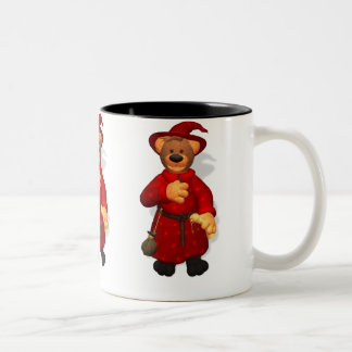 Dinky Bears Little Trick or Treat Wizard Two-Tone Coffee Mug