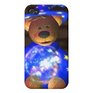 Dinky Bears Little Wizard Covers For iPhone 4