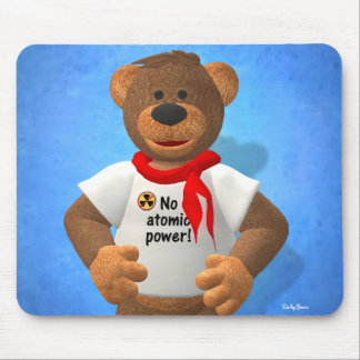 Dinky Bears: No atomic power! Mouse Pad