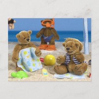 Dinky Bears on Holidays
