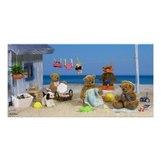 Dinky Bears on Holiday