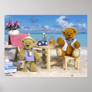 Dinky Bears on Holiday