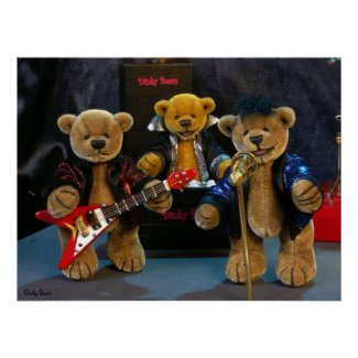 Dinky Bears on Stage