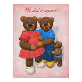 Dinky Bears: Parents To Be Poster