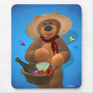 Dinky Bears: Picnic Time Mouse Pad