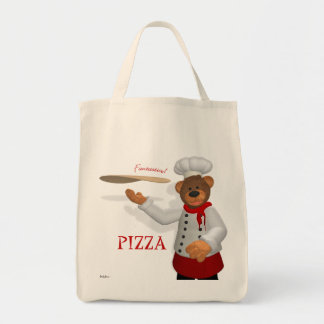 Dinky Bears Pizza Baker Tote Bag