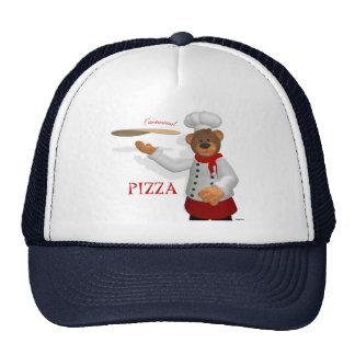Dinky Bears Pizza Baker Trucker Hat