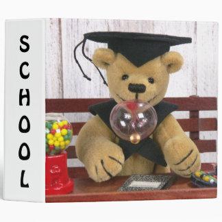 dinky Bears Schoolboy Binder