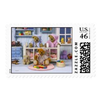 Dinky Bears: Slumber Party stamp