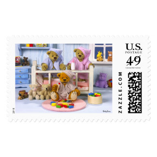 Dinky Bears Slumber Party Postage