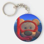 Dinky Bears: Snorkeler Keychain