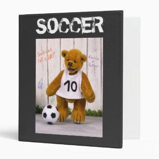 Dinky Bears Soccer Player Binder