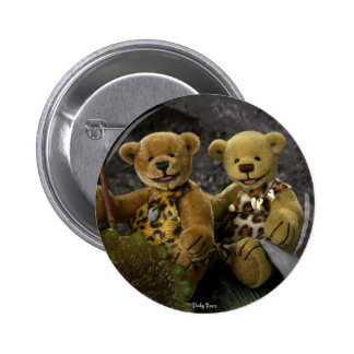 Dinky Bears Stone Age Pinback Button